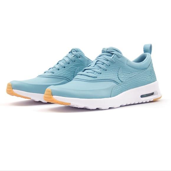 quality design db8f5 e4d3c NWOT Nike Air Max THEA Premium Sneaker, Mica Blue.  M5a6a0b1900450f682f18586e